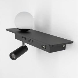 бра Gala c USB 1872